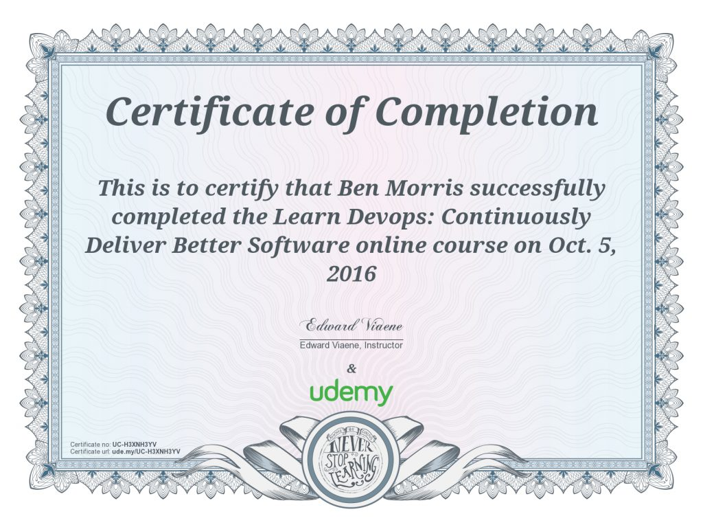 Certification Learn Devops Continuously Deliver Better Software